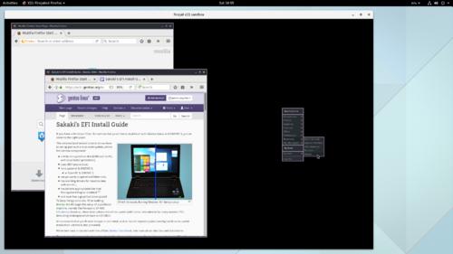 Sakaki's EFI Install Guide/Sandboxing the Firefox Browser with